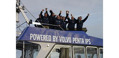 Groen bloed na bezoek aan Volvo Penta in Zweden